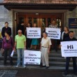 В Ужгороді заблокували СБУ (ВІДЕО)